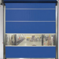 New Door from Steel Guard Safety is Offered in Vinyl Roll Up