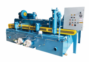New Roller Table Washers for Heavy Parts and Conveyed on Roller Type Conveyor