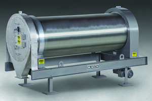 New Rotary Mixer Blends Dry Bulk Solids with or without Liquid Additions