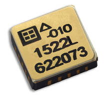New MEMS Analog Surface Mount Accelerometers are RoHS Compliant