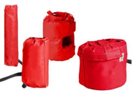New Wet-Area Cloth Heating Jackets are Lightweight for Easy Installation