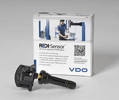 New TPMS Sensor Follows OE Vehicle Relearn Procedures