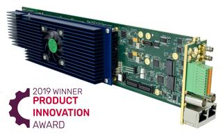 Cobalt Digital's New Software Defined Decoder Wins Future Product Innovation Award, Presented by TV Technology