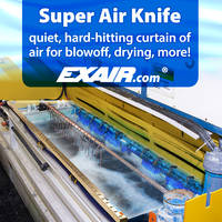 New Super Air Knife Meets OSHA Noise Level Exposure Requirements