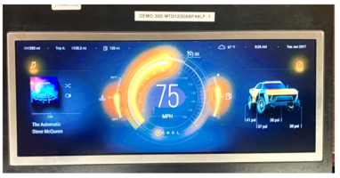 Microtips Announces 12.3 Inch TFT Display