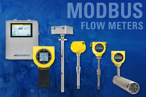 New Thermal Mass Air/Gas Meters are Direct Mass Flow Measuring