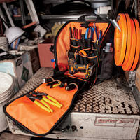 New Tool Station Backpack from Klein Tools Comes with 21 Pockets
