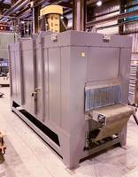 Wisconsin Oven Ships Conveyor Oven for Stress Relieving Automotive Parts