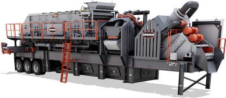 New Spirit Wash Plant Features 6x20 Guardian Horizontal Screen
