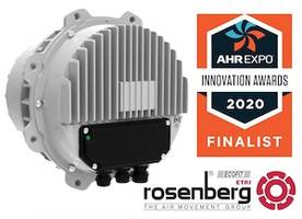 Rosenberg's New, More Powerful Generation 3 EC Fan Motor Selected As Finalist In AHR 2020 Innovation Awards