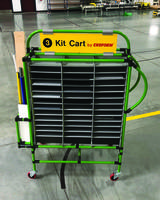 New Kitting Cart from Creform Comes with Integrated Signage