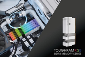 New TOUGHRAM DDR4 Wrapped in Brushed Aluminum Heat Spreader