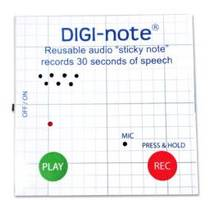 New 2nd Generation DIGI-note with Voice Recording Memo Note Pad