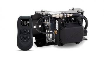 Enhanced WirelessAir On-Board Air Compressor System Comes with Hand-Held Controller