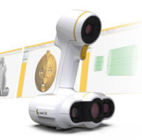 New peel 2 CAD 3D Scanner is Compatible with SOLIDWORKS, Inventor and PTC CAD Software