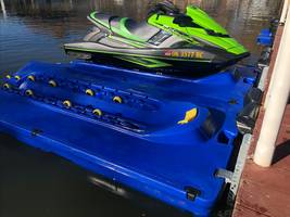 New PWC Docking Platform Includes Six Sets of UV Protected Wheels
