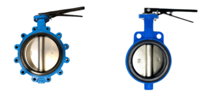 New Butterfly Valves Available in Lug or Wafer Style