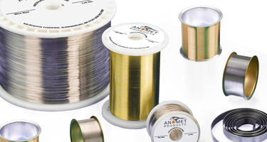 New Clad Metal Wire Provides High Reliability, Flexibility, and Optimum Formability