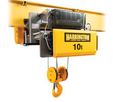 New RY Electric Wire Rope Hoists are H4 Duty Rated and UL 1340 Listed