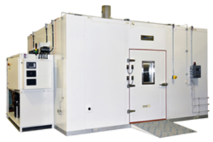 Tenney Environmental Ships One Walk-in Chamber to The Chemical Products Industry