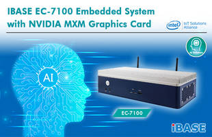 New EC-7100 Embedded System Measures 340 x 170 x 79mm