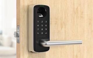 New Smart Door Handle Features Anti-peep Touchscreen