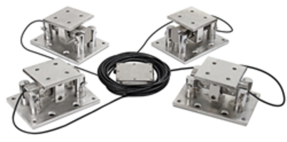 New Load Cell Mounting Kits for Blending, Inventory Control and Weighing