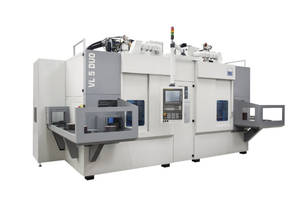 New VL 5 DUO Dual-Spindle Turning Center Features Pick-Up Automation System