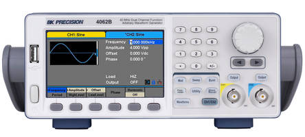 New Waveform Generators Consist of 40, 80 and 120 MHz Models