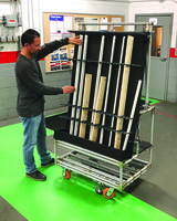 New Kitting Cart from Creform Comes with Floor Lock
