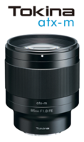 NEW atx-m 85mm f/1.8 FE Lenses are Ideal for Full-Frame Sony E-Mount Mirrorless Cameras