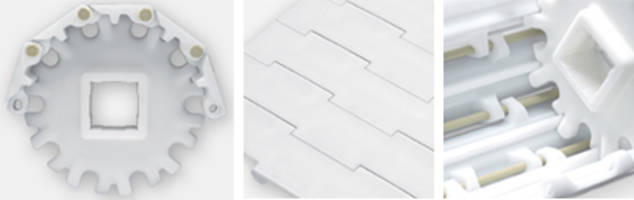 New HyCLEAN Plastic Modular Belt is Ideal for Poultry Processing Applications