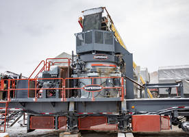 New P500 Cone Crusher Operates at 500 Horsepower