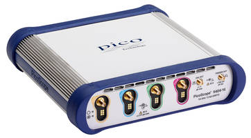 New PicoScope 9404-16 Oscilloscope Available in 900MHz, 2.4 and 5.5GHz