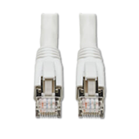 New Cat8 Ethernet Patch Cables Come with White PVC Jacket