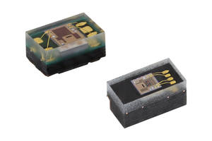 New VEML3328 and VEML3328SL RGBC-IR Color Sensors Offer Better Linearity and Higher Sensitivity