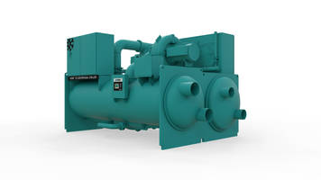 New YZ Magnetic Bearing Centrifugal Chiller Includes Two Single-stage Compressors