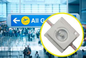 New Lensed 12V LED Module Offers 140 Lumens with 165 degree Beam