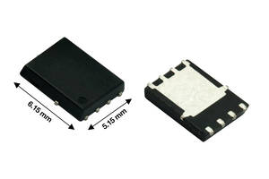 New 80 V Mosfet from Vishay is RoHS-Compliant and Halogen-Free
