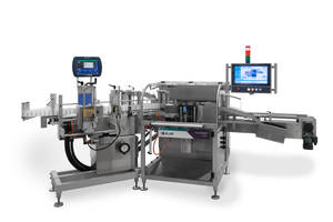 New 230 Vial/Syringe Labeler Comes with Vertical Label Spool Dispenser