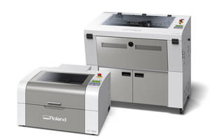 New LV and VersaUV LEF2 Series with Laser Engraving and UV Printing Technologies