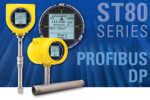 New ST80 Flow Meter Available for Powering by 85-265 AC or 24 DC
