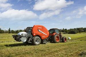 New FastBale Hay Baler with Wrapping System