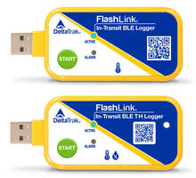 New Two FlashLink In-Transit BLE Loggers Monitor Humidity