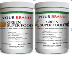 New Super Food Powders Derived from Whole and Raw Foods
