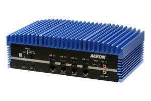 New BOXER-6641 Fanless Box PC is Ideal for Harsh Industrial Environments