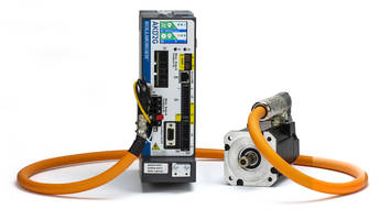 New 2G Motion System from Kollmorgen Comes in Single-Cable Design