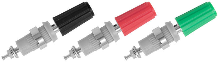 New CT4231-NI 4mm Sheathed Binding Post Carries CE Mark and is RoHS 2 Compliant