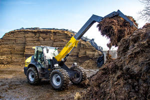 New Telescopic Articulated Loader with 17 ft. of Telescopic Lift Height
