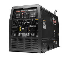 New Multiple Arc Welder/Generator Features Two Welders Powered By One Diesel Engine